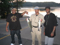 Lake Allatoona Fishing Guides - Nelly and Allan Iverson Striper Fishing Trip On Lake Allatoona!